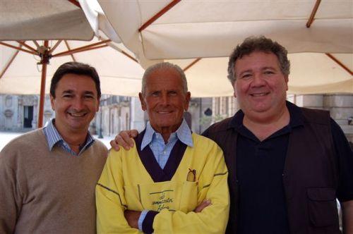 Leonardo Lodato, Enzo Maiorca e Guido Capraro (da sx)